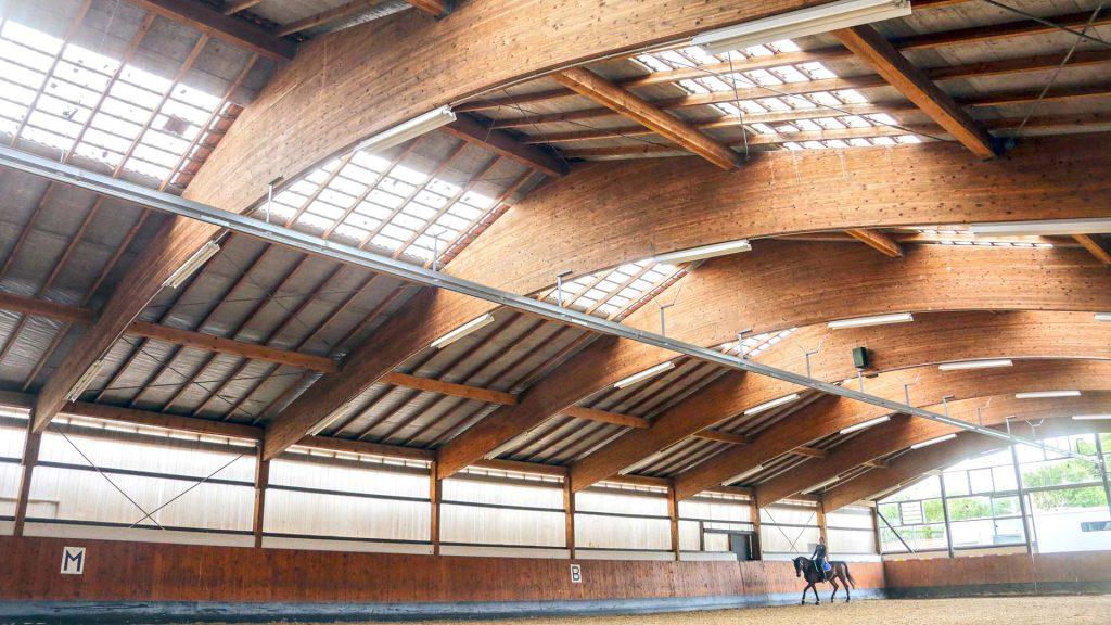Pferdeklinik Salzhofen - Impressionen - Reithalle