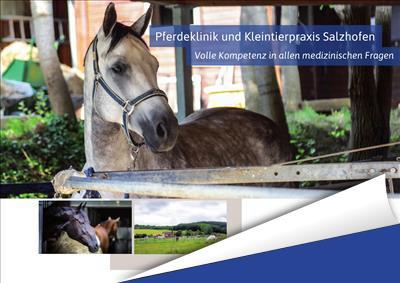 Pferdeklinik & Kleintierpraxis Salzhofen Broschüre